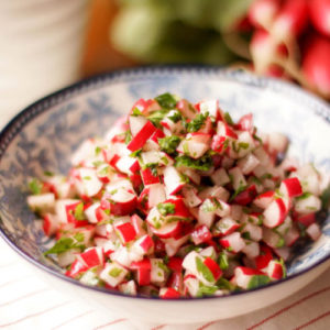 Radieschen-Salat